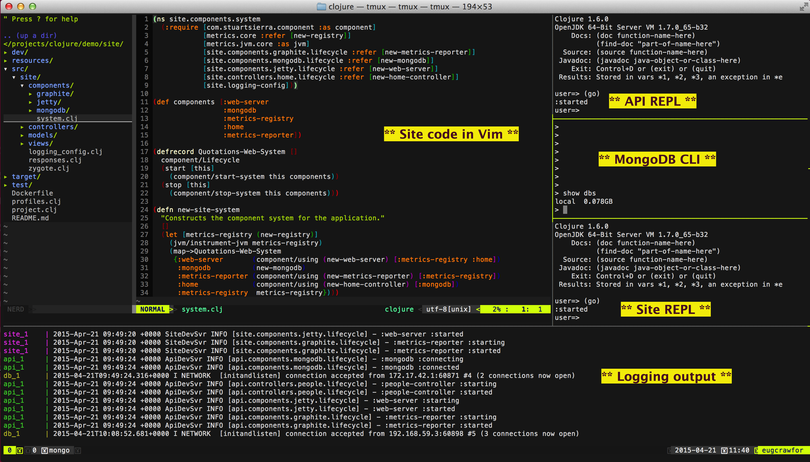 GitHub - garycrawford/lein-life: A Leiningen template which produces ...