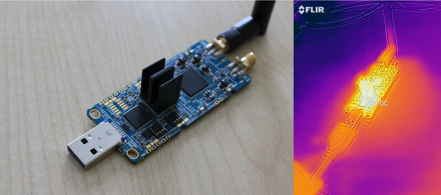 FPGA sinked