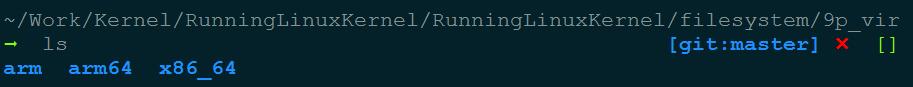 host 机器的共享目录