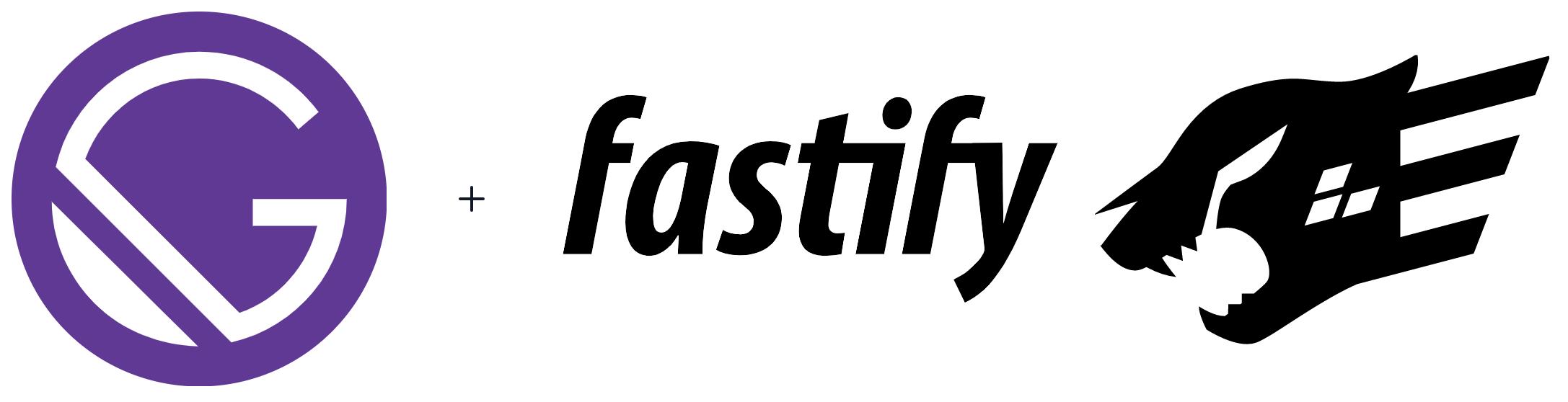 Gatsby + Fastify