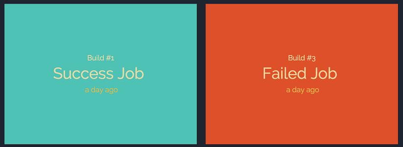 TeamCity build type status bold
