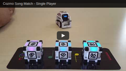 Cozmo Song Match Video