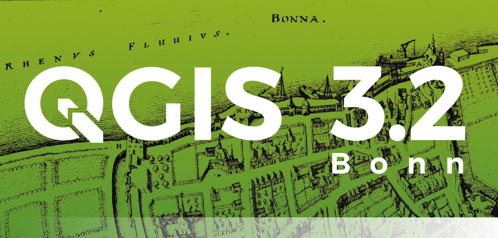 QGIS 3.2 Bonn