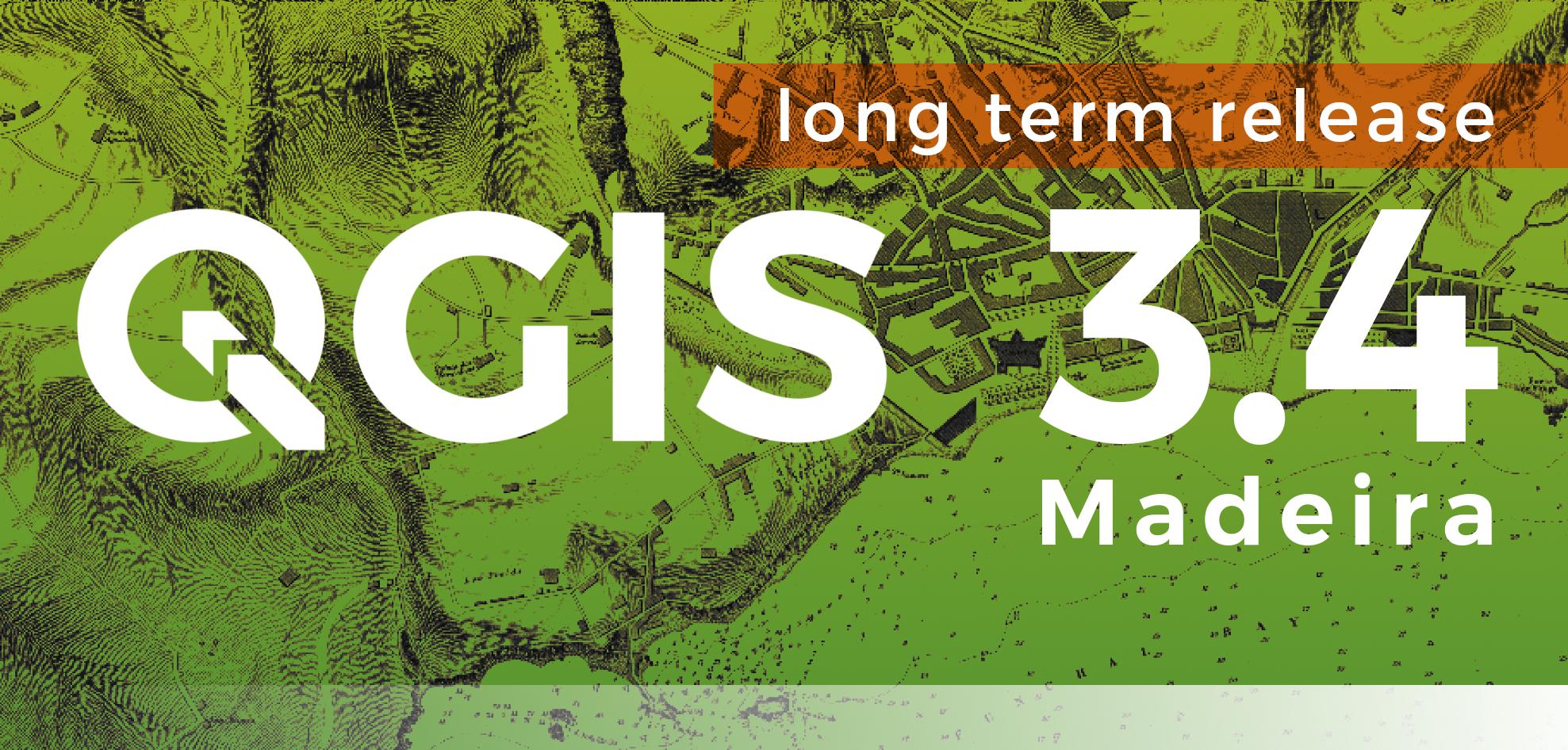 QGIS 3.4 Madeira