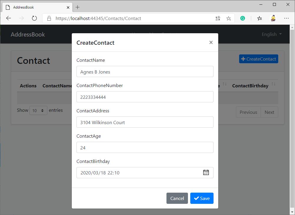 CreateContact