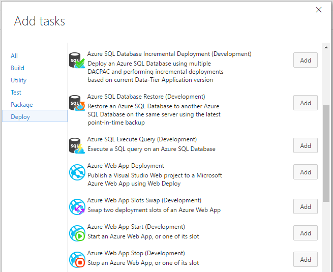 An easier successful Azure Web App deployment process from VSTS