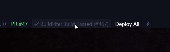 Buildkite CI StatusBar