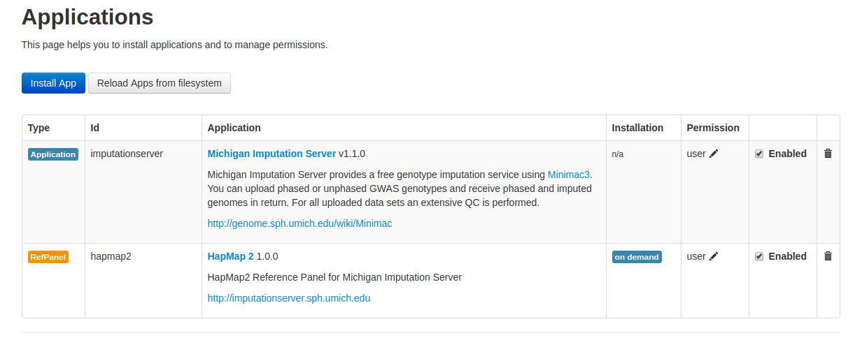 Docker - Michigan Imputation Server