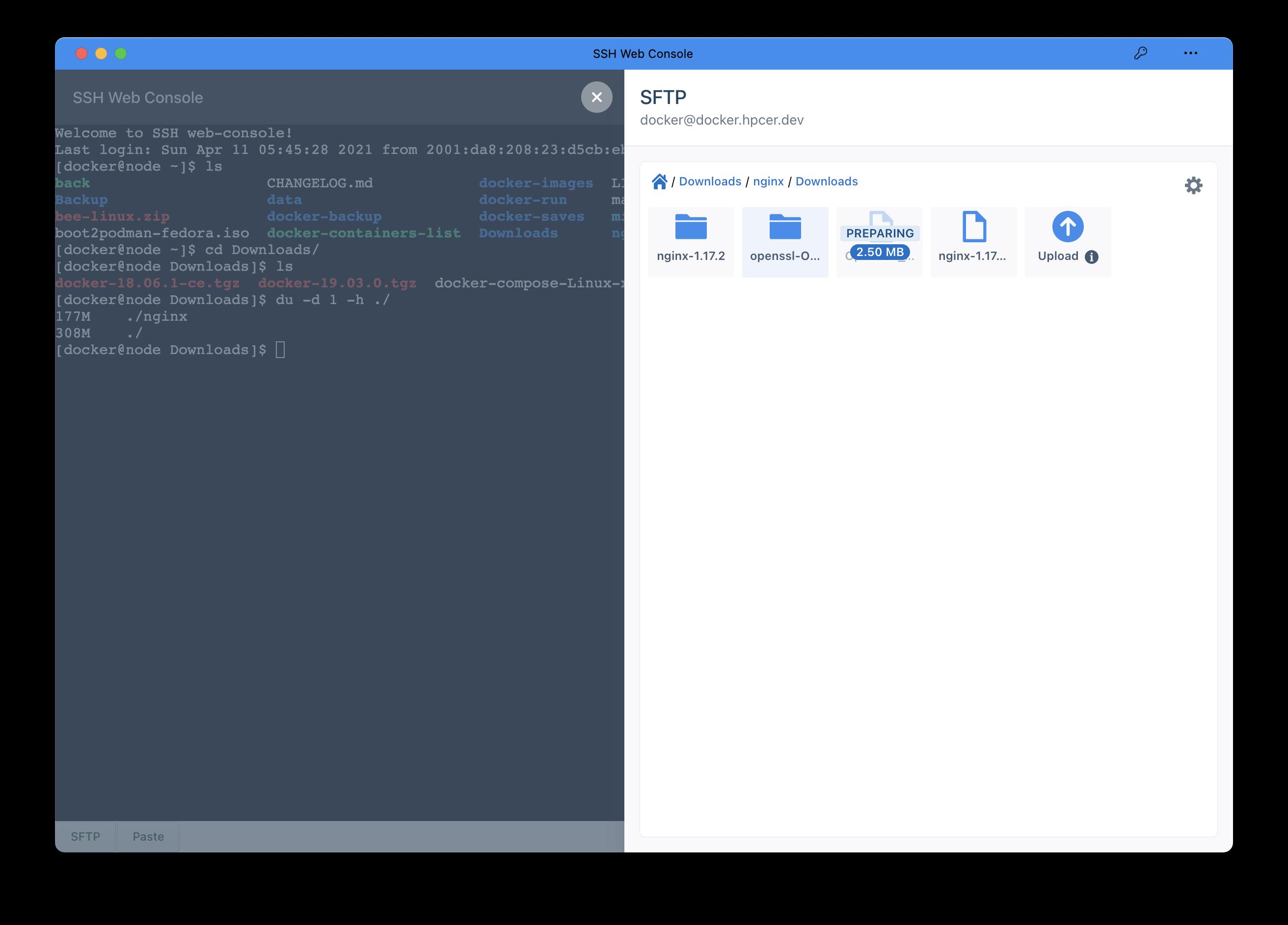 ssh-web-console一款基于go语言开发的web端ssh工具