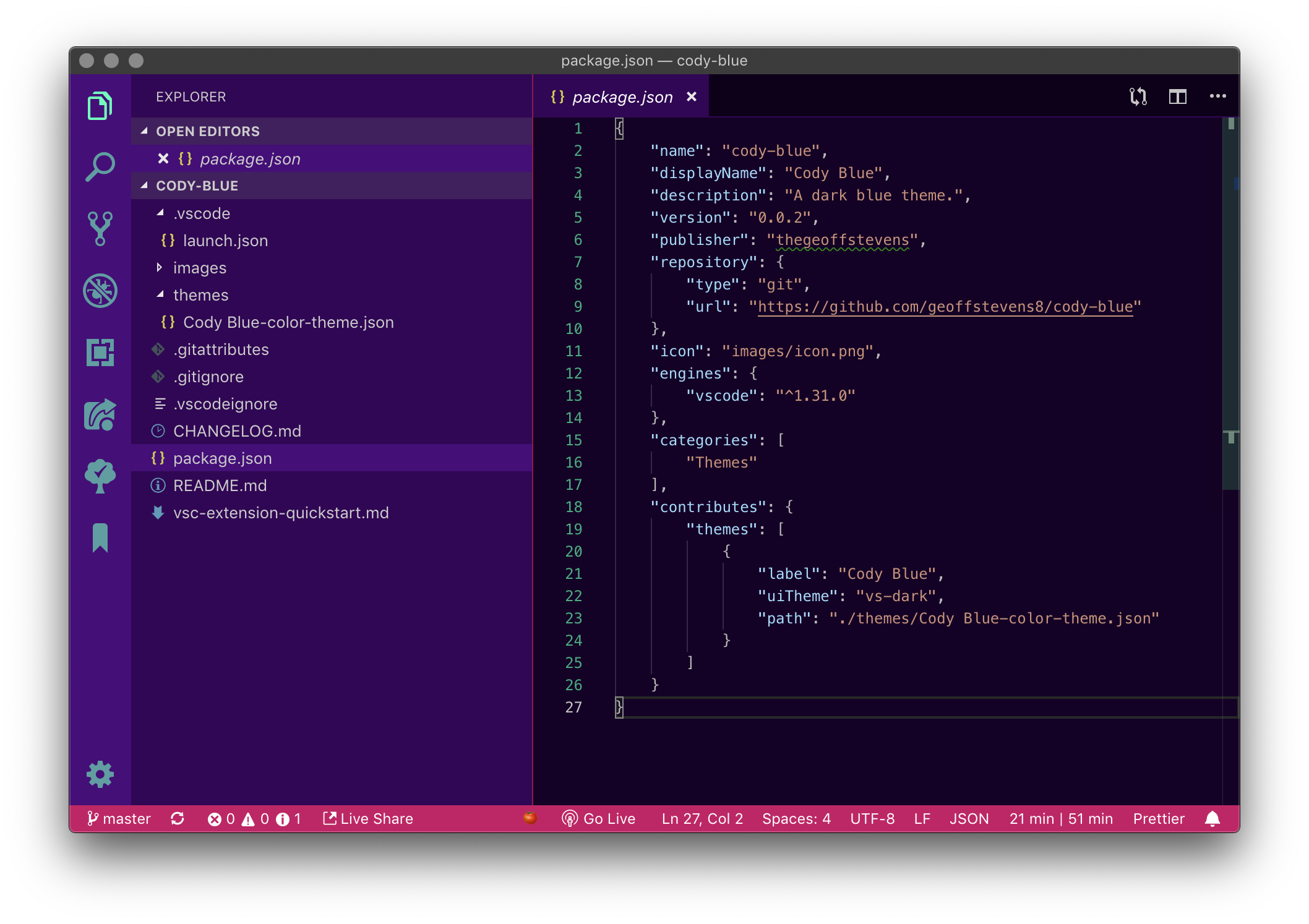 Wildberry for VS Code