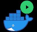 Docker Run - Logo