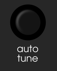 auto tune button