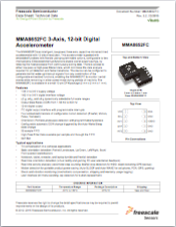 MMA8652FC Accelerometer datasheet thumbnail