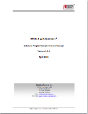 Redpine WiseConnect Software Programming Reference Manual thumbnail