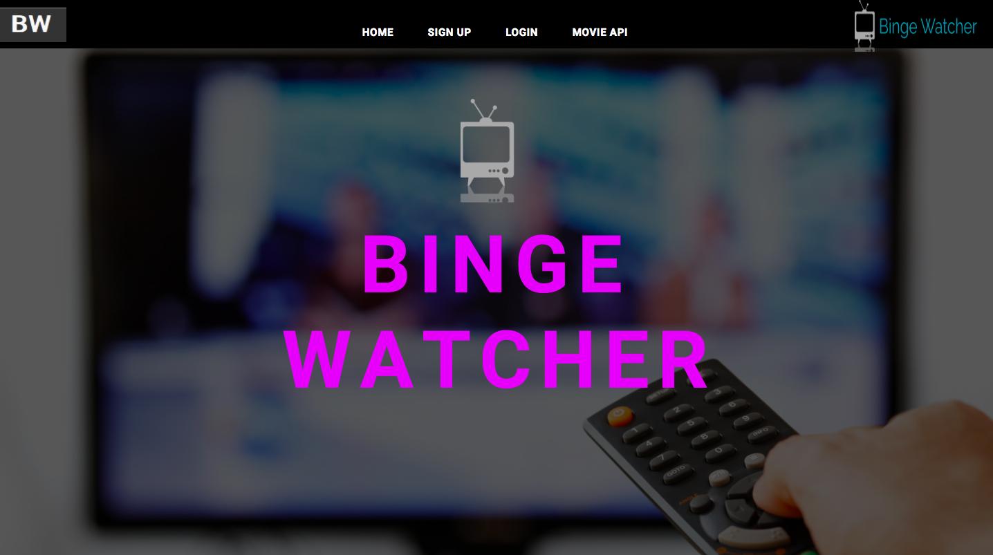 BingeWatcher