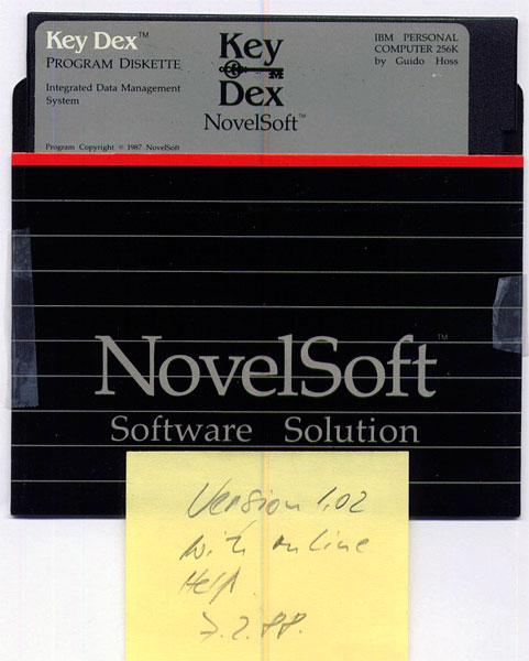 KeyDex Distribution Disk