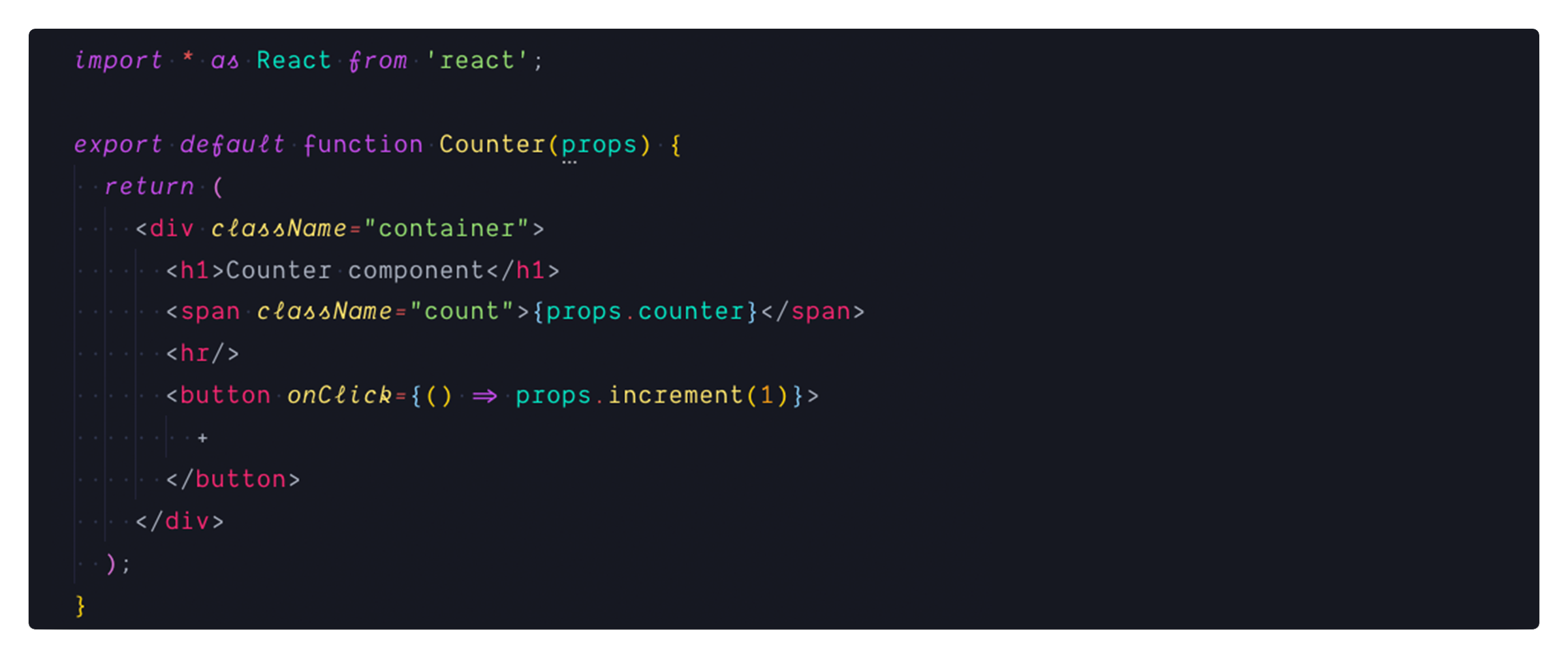 JS Syntax Poncho