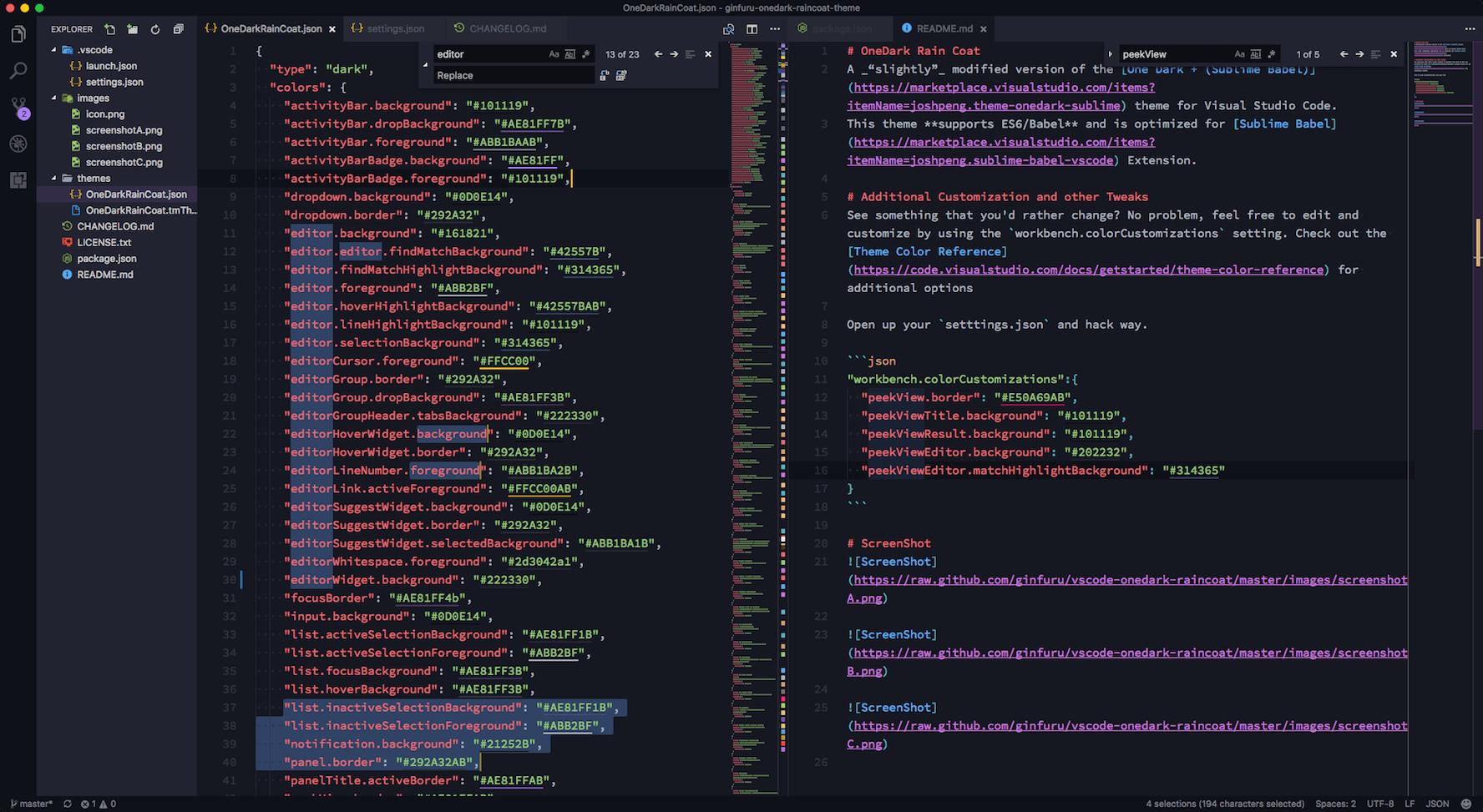 ScreenShot Workspace