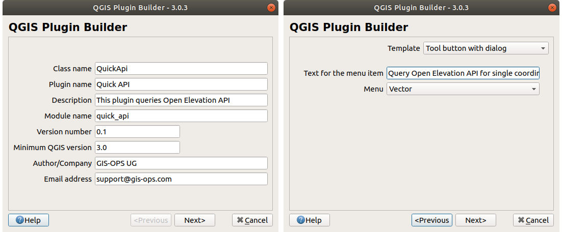 Plugin Reloader settings