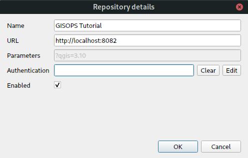 add qgis repository
