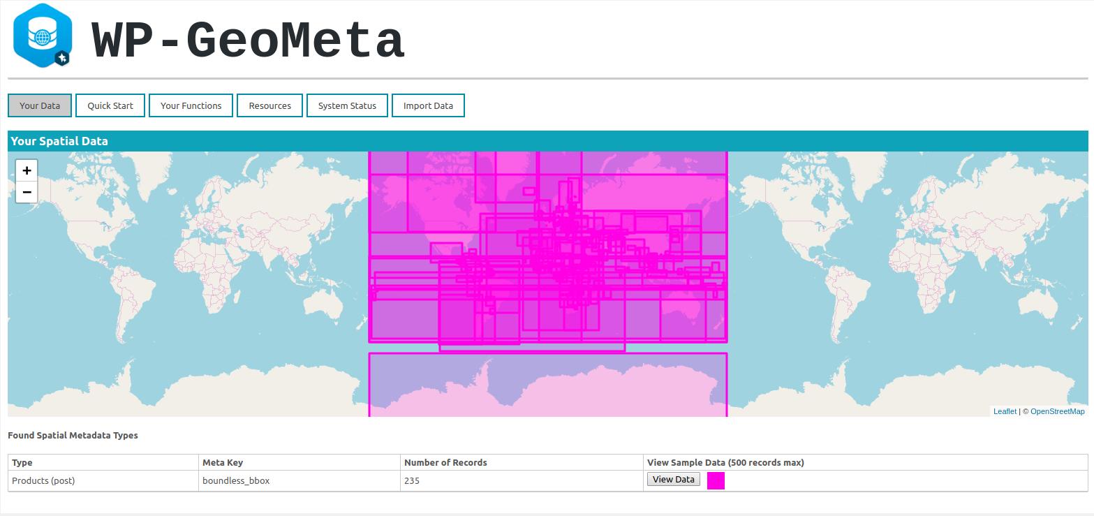 GeoMeta Plugin example