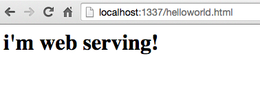 a simple guide for getting a local web server set up · GitHub