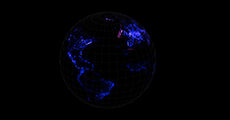 Showing Depth With A 3d Globe Github
