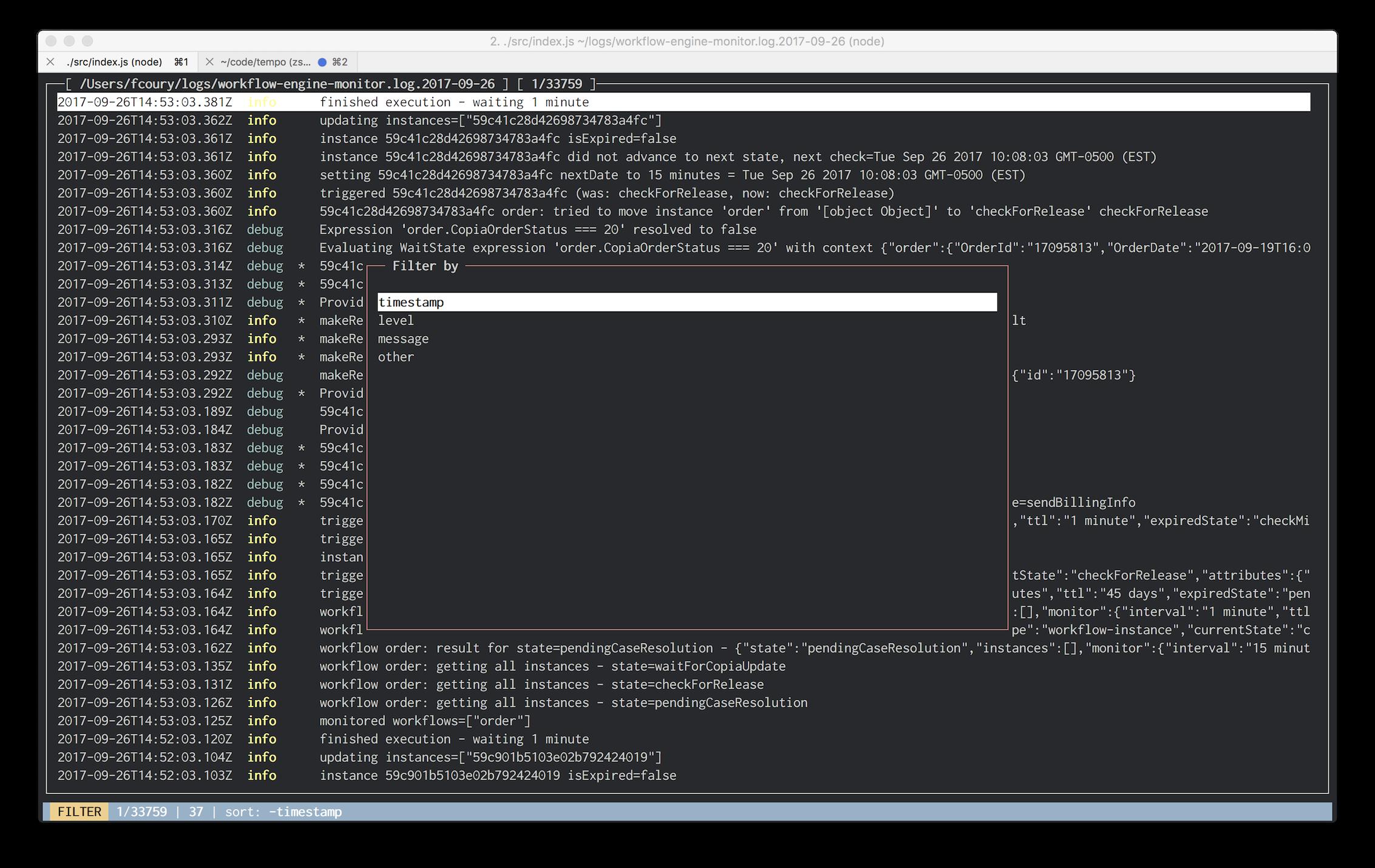 json-log-viewer - npm