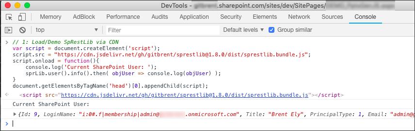 GitHub - gitbrent/SpRestLib: JavaScript SharePoint REST Web