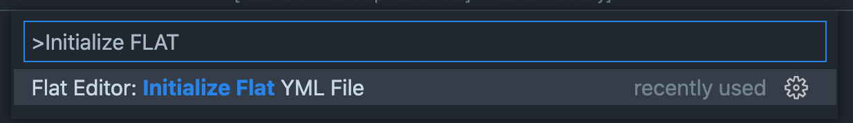 Screenshot of VSCode Command Palette
