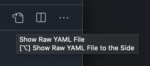 Screenshot of 'Show Preview' VSCode toolbar button
