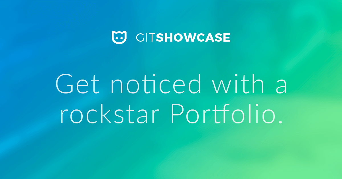 Get noticed with a rockstar Portfolio