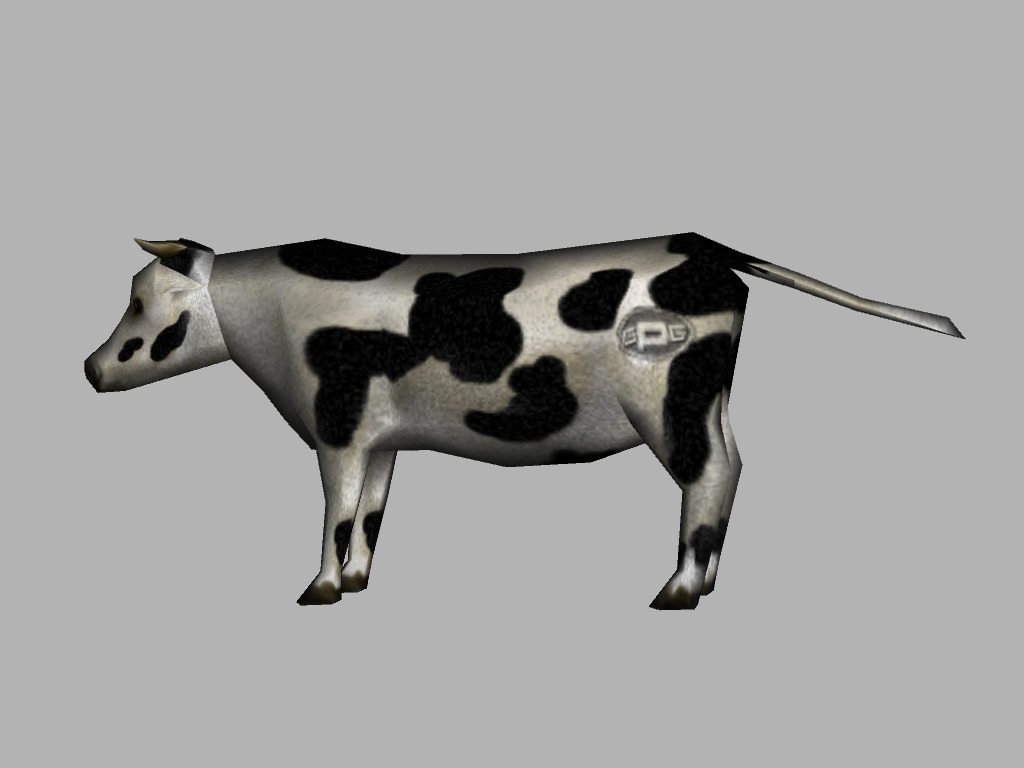 Gas Powered Cow