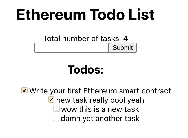 Big Brain Todo List Ethereum Technology - 大大脑待办事项列表<a href=