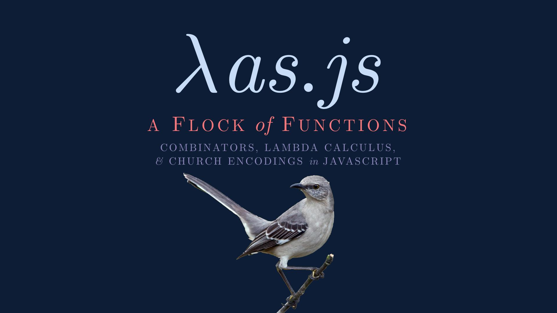 Lambda as JS - Presentation Cover Image
