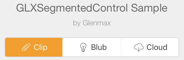 GLXSegmentedControl