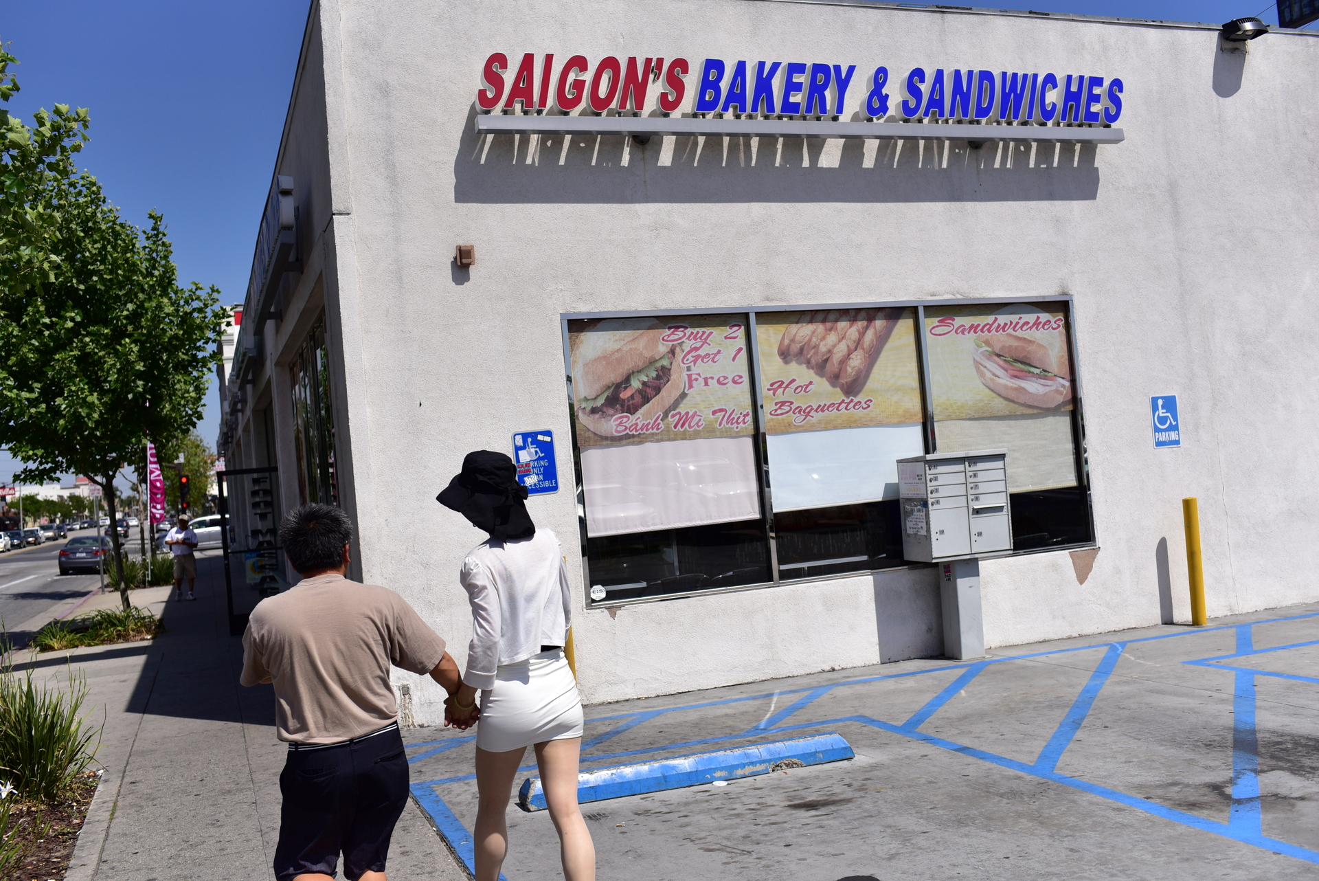 Saigon's Bakery on the corner of San Gabriel Blvd & Valley Blvd in New Taipei, CA
