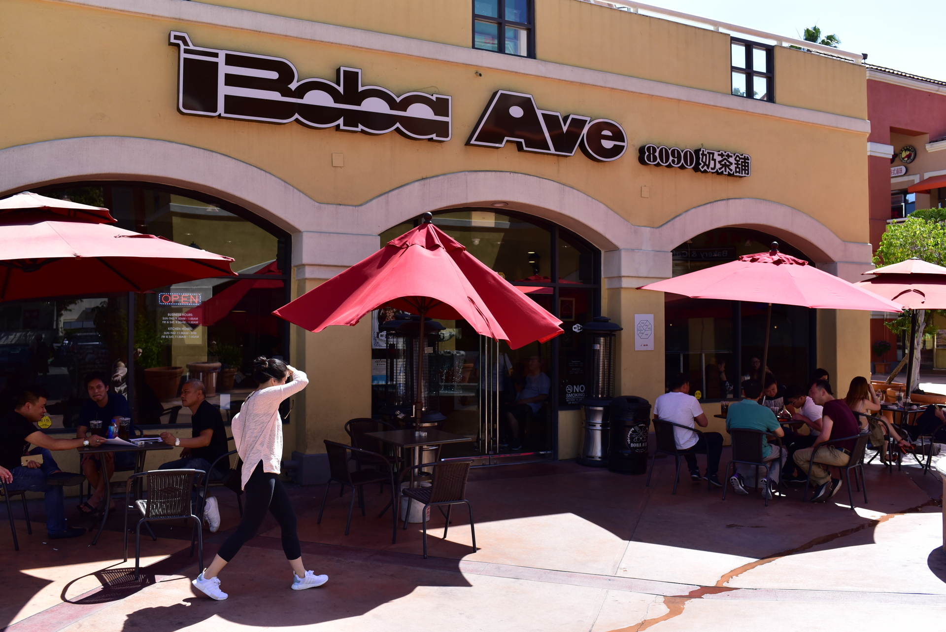 Boba Avenue in San Gabriel Square