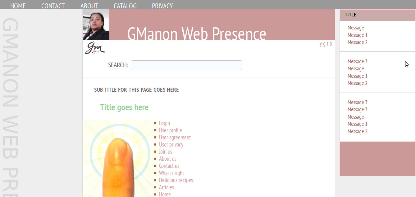 Simple-Template: GManon