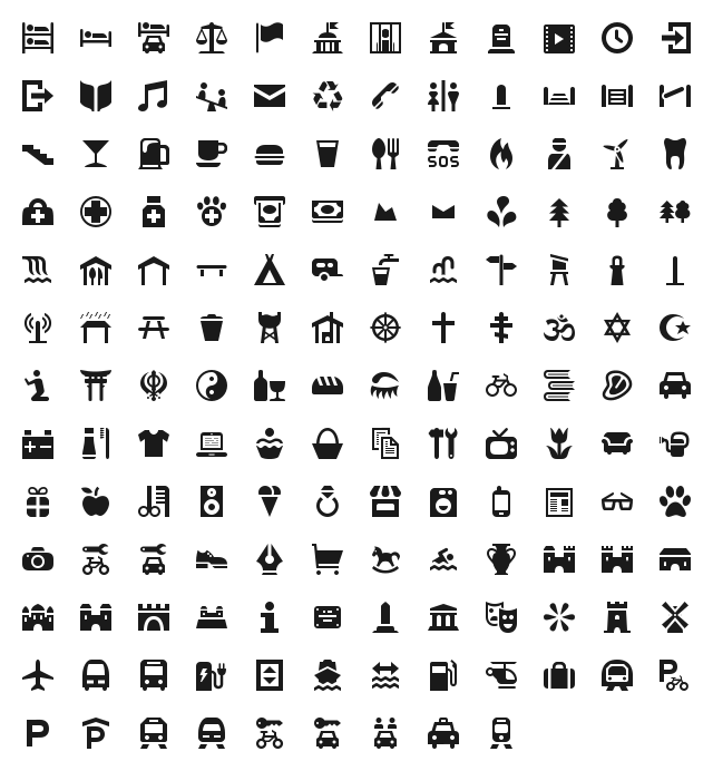Osmic (OSM Icons)