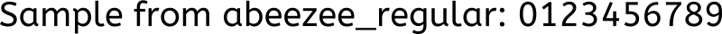 abeezee_regular