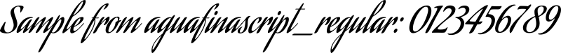 aguafinascript_regular