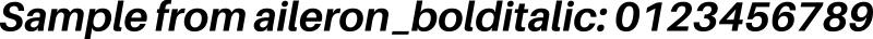aileron_bolditalic