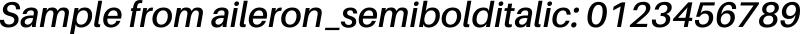 aileron_semibolditalic