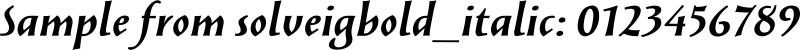 solveigbold_italic
