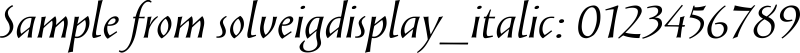 solveigdisplay_italic