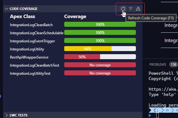 Coverage Sidebar