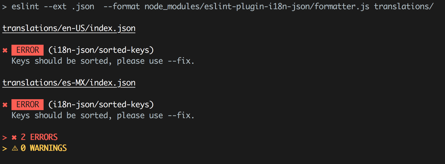 eslint-plugin-i18n-json - npm