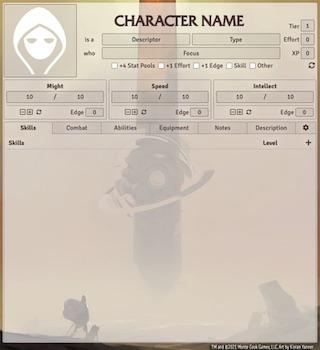 Numenera Amber Monolith