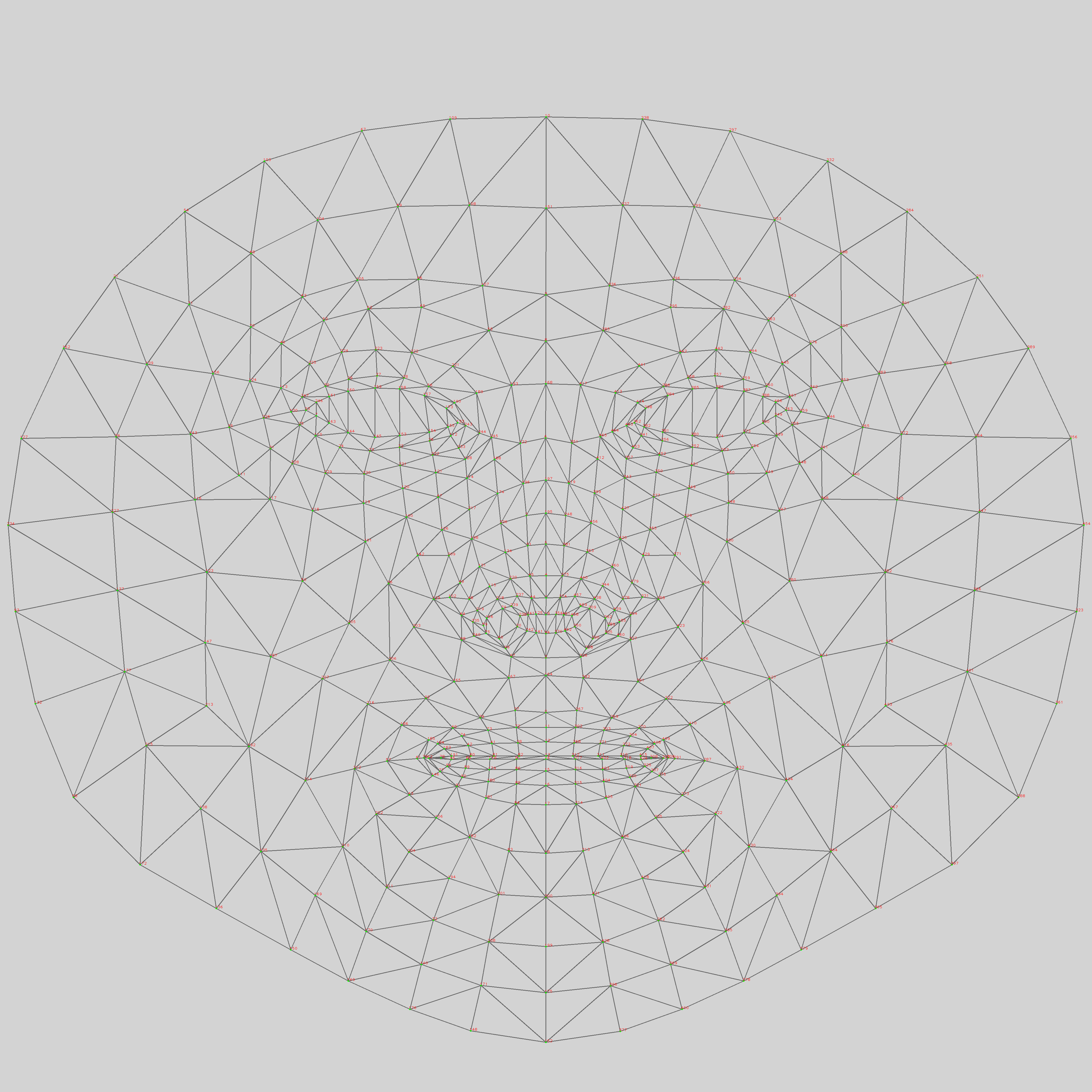 Canonical face model